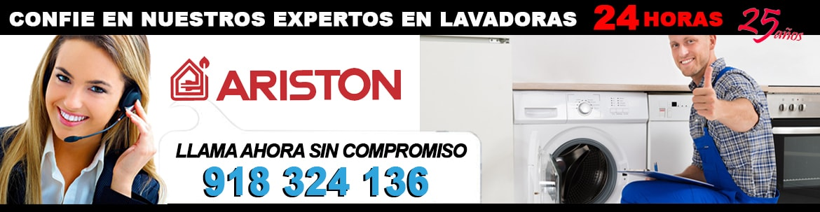 servicio tecnico lavadoras ariston madrid