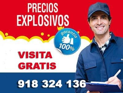 reparacion lavadoras madrid precios explosivos